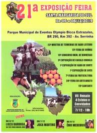 JANTAR BAILE DA 21ª EXPOSIÇÃO-FEIRA DE SANTA MARGARIDA DO SUL - 09/11/2019