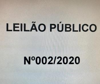 LEILÃO CANCELADO