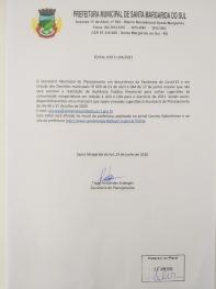 Sugestões para LDO e LOA 2021