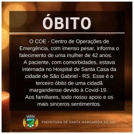 ÓBITO POR COVID-19