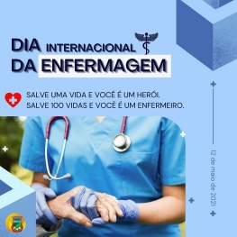 DIA INTERNACIONAL DA ENFERMAGEM!