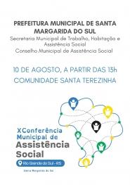 X CONFERÊNCIA DE ASSISTÊNCIA SOCIAL