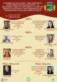 Ciclo de palestras do programa de capacitações