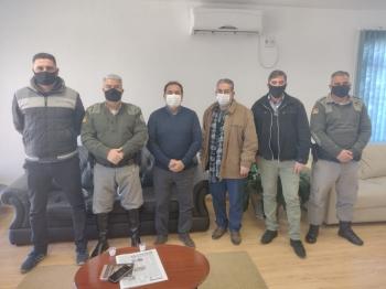 Reunião com a Brigada Militar